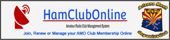 HamClubOnline - Join, Renew or Manage your Arizona Mesh Organization Club Membership - Click Here